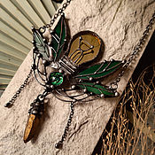 Украшения handmade. Livemaster - original item Suspension Light Bulb in the grass (p-100). Handmade.