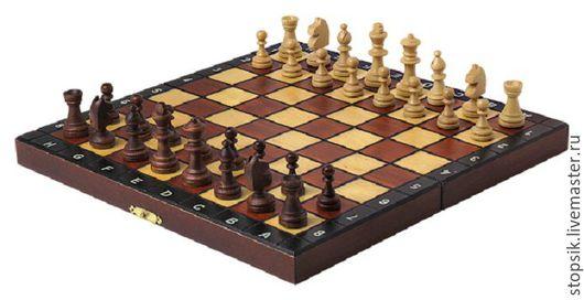 Настольные игры ручной работы. Ярмарка Мастеров - ручная работа. Купить Шахматы, нарды, шашки Игра  6371. Handmade. Коричневый