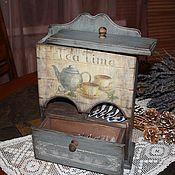 """Для дома и интерьера ручной работы. Ярмарка Мастеров - ручная работа Буфет """"Tea time"""". Handmade."""