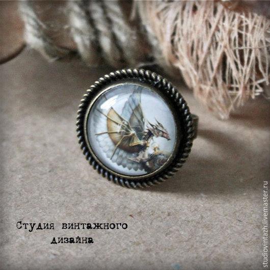 """Кольца ручной работы. Ярмарка Мастеров - ручная работа. Купить Кольцо """"Денвер"""". Handmade. Бронзовый цвет, винтаж, кольцо стимпанк"""