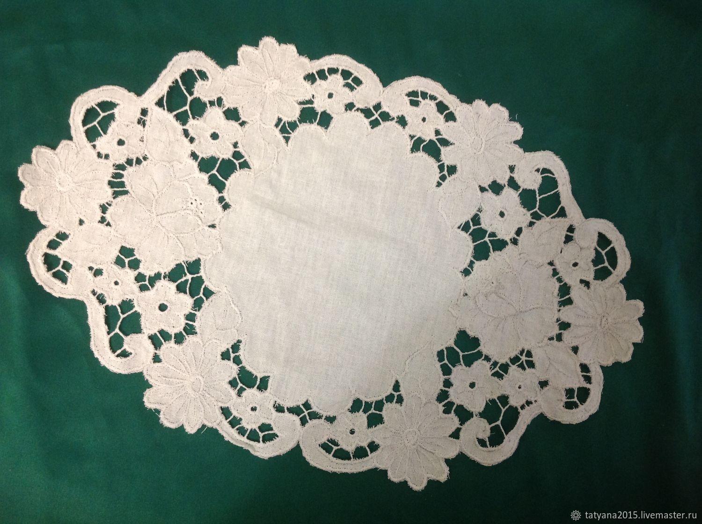Oval napkin (drawing from W Lena 5/2016 g), Swipe, Tomsk,  Фото №1