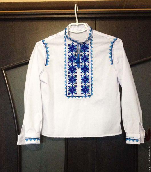 Одежда для мальчиков, ручной работы. Ярмарка Мастеров - ручная работа. Купить Вышиванка для мальчика.. Handmade. Белый, вышиванка украинская