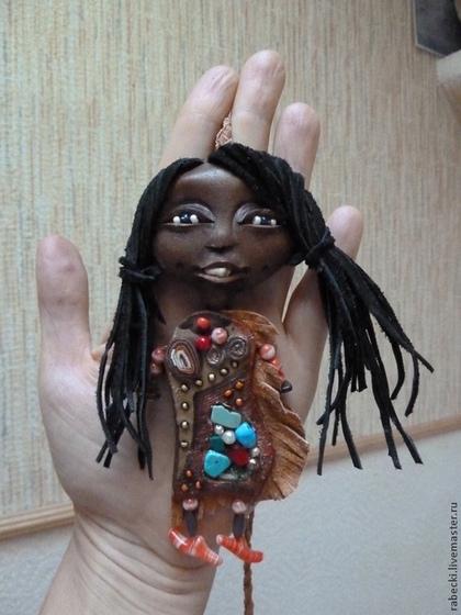 Коллекционные куклы ручной работы. Ярмарка Мастеров - ручная работа хранитель. Handmade.