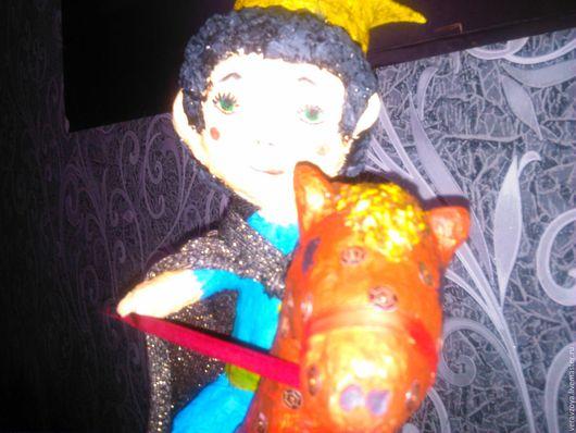 Коллекционные куклы ручной работы. Ярмарка Мастеров - ручная работа. Купить Принц на коне. Handmade. Кукла ручной работы, сказка