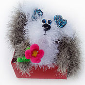 Куклы и игрушки ручной работы. Ярмарка Мастеров - ручная работа Крольчишка. Handmade.