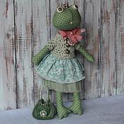 Куклы и игрушки ручной работы. Ярмарка Мастеров - ручная работа Лягушка..., которая Царевна. Handmade.
