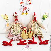Куклы и игрушки ручной работы. Ярмарка Мастеров - ручная работа Куриное семейство!. Handmade.
