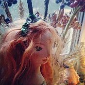 Куклы и игрушки ручной работы. Ярмарка Мастеров - ручная работа Фьёне, маленькая лесная нимфа.... Handmade.