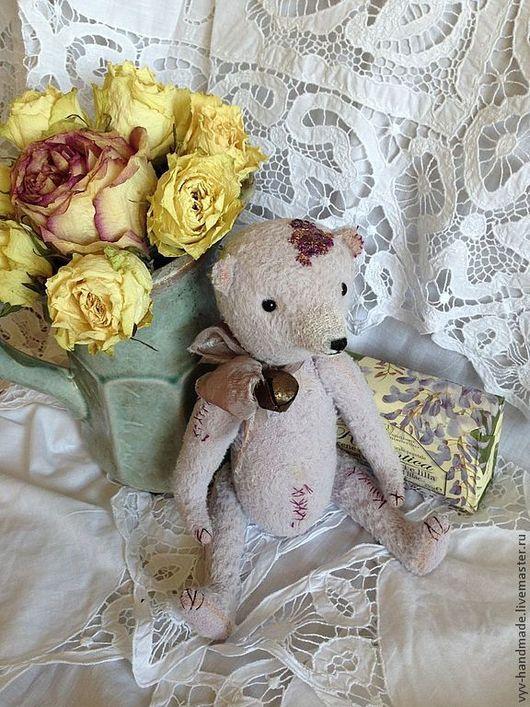 Мишки Тедди ручной работы. Ярмарка Мастеров - ручная работа. Купить Прекрасная девочка Лили. Handmade. Бледно-сиреневый, мишка
