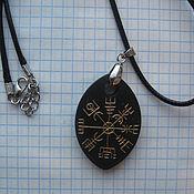 """Фен-шуй и эзотерика ручной работы. Ярмарка Мастеров - ручная работа Вигвизир """"Магический компас""""  на шунгите. Handmade."""