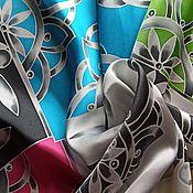 Аксессуары handmade. Livemaster - original item Silk handkerchief