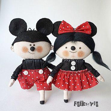 Dolls & toys handmade. Livemaster - original item Copy of Petite dolls. Handmade.