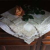 Винтаж handmade. Livemaster - original item Set of table napkins