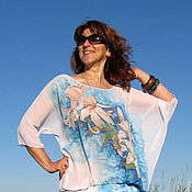 Одежда handmade. Livemaster - original item Author`s tunic dress in