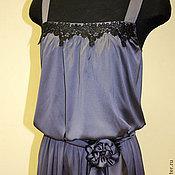 Одежда handmade. Livemaster - original item Satin dress neovintage. Handmade.