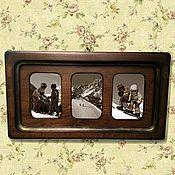 Сувениры и подарки ручной работы. Ярмарка Мастеров - ручная работа Рамка для фото Большая рама  Фоторамки из дерева. Handmade.