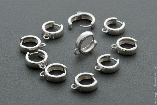 Для украшений ручной работы. Ярмарка Мастеров - ручная работа. Купить Швензы серебро 925 кольца широкие. Handmade. Серебряный
