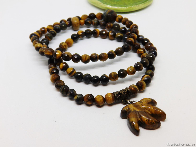 Autumn Tiger Bracelet Set (Tiger Eye), Bracelet set, Gatchina,  Фото №1
