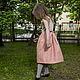 Одежда для девочек, ручной работы. Заказать Платье-сарафан с бантиком - розовое. Vera Olshvang. Ярмарка Мастеров. Сарафан, праздничное платье