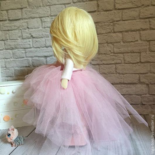 Человечки ручной работы. Ярмарка Мастеров - ручная работа. Купить Леди. Handmade. Розовый, куклы и игрушки, интерьерная игрушка