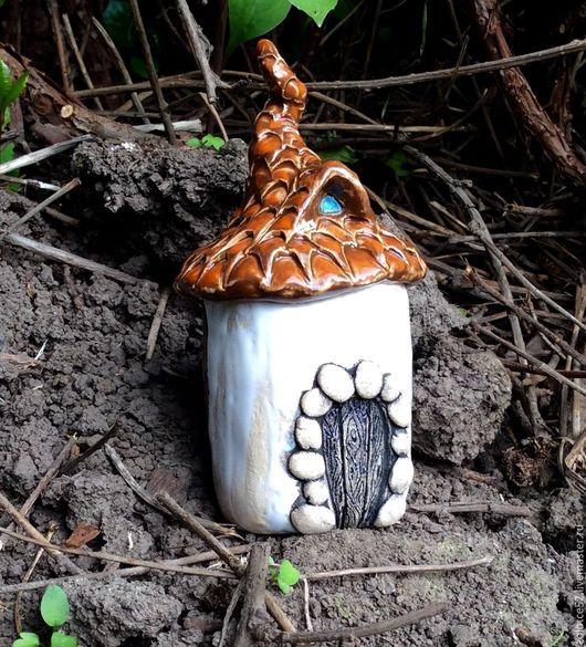 Колокольчики ручной работы. Ярмарка Мастеров - ручная работа. Купить Домик колокольчик. Handmade. Домик, керамика ручной работы