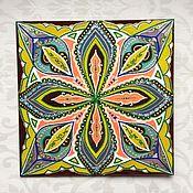 Картины и панно ручной работы. Ярмарка Мастеров - ручная работа Мандала Интерьерная. Handmade.