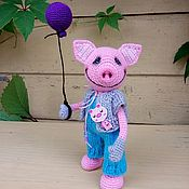 Куклы и игрушки ручной работы. Ярмарка Мастеров - ручная работа Поросенок Лёшка. Handmade.