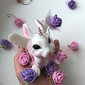 Куклы и игрушки ручной работы. Ярмарка Мастеров - ручная работа Пасхальный кролик.. Handmade.