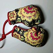 Автомобильные сувениры ручной работы. Ярмарка Мастеров - ручная работа Перчатки Боксерские, сувенир. Handmade.