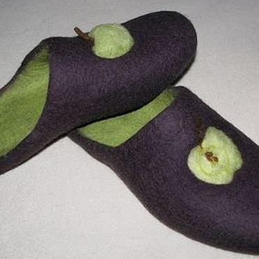 """Обувь ручной работы. Ярмарка Мастеров - ручная работа """"Зеленое яблоко"""". Handmade."""