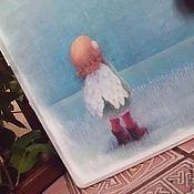 """Для дома и интерьера ручной работы. Ярмарка Мастеров - ручная работа Ключница""""Я вырасту и буду летать..."""". Handmade."""