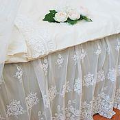 Для дома и интерьера ручной работы. Ярмарка Мастеров - ручная работа Подзор для кровати в силе шебби шик. Handmade.