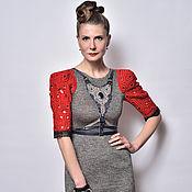 Одежда ручной работы. Ярмарка Мастеров - ручная работа Трикотажное платье. Handmade.