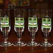 Винтаж handmade. Livemaster - original item Set of 6 glasses for vodka