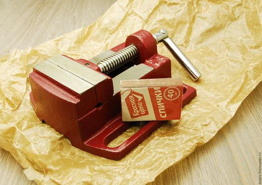 Другие виды рукоделия ручной работы. Ярмарка Мастеров - ручная работа. Купить Тиски быстрозажимные. Handmade. Ярко-красный, багет