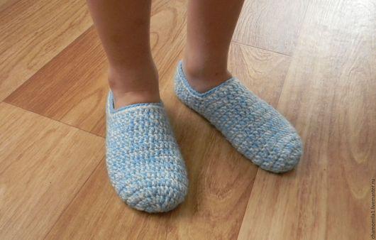 Обувь ручной работы. Ярмарка Мастеров - ручная работа. Купить Следки. Handmade. Бирюзовый, следки вязаные, следки для ребёнка носки