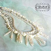 Украшения handmade. Livemaster - original item Bib - necklaces