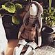 Куклы Тильды ручной работы. Кролик. Наталья Леонтьева. Интернет-магазин Ярмарка Мастеров. Кролик, игрушка ручной работы, мешковина