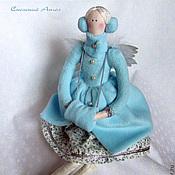 Куклы и игрушки ручной работы. Ярмарка Мастеров - ручная работа Снежный ангел тильда. Handmade.