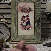 """Для дома и интерьера ручной работы. Ярмарка Мастеров - ручная работа Ключница """" Прогулка в горах """". Handmade."""