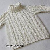 Работы для детей, handmade. Livemaster - original item The Sweater Is Gorgeous. Handmade.