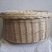 Для дома и интерьера handmade. Livemaster - original item box wicker storage. Handmade.