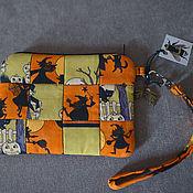 Субкультуры ручной работы. Ярмарка Мастеров - ручная работа Маленькая сумочка - чехол Halloween. Handmade.