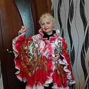 """Одежда ручной работы. Ярмарка Мастеров - ручная работа Пончо """"Русь"""". Handmade."""