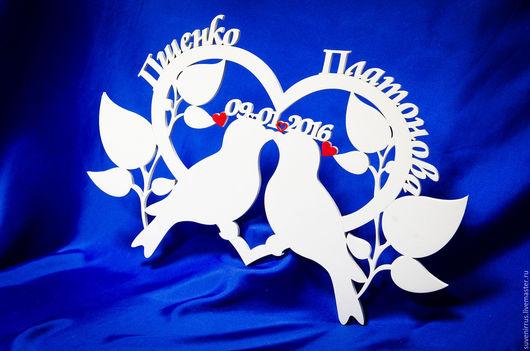 Свадебные аксессуары ручной работы. Ярмарка Мастеров - ручная работа. Купить Голуби любви. Handmade. Белый, любовь, любовь и голуби