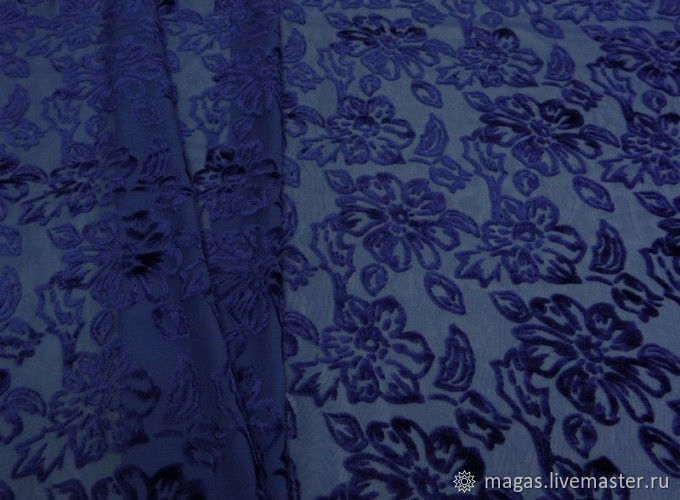 Pan velvet chiffon a - euro-tex srl, Fabric, Moscow,  Фото №1
