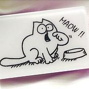 Косметика ручной работы. Ярмарка Мастеров - ручная работа Мыло Simon`s Cat, кот Саймона. Handmade.