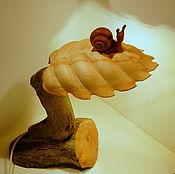 "Table lamps handmade. Livemaster - original item Скульптурная лампа ""Улитка"". Handmade."