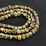 Материалы для творчества handmade. Livemaster - original item Beads Deer Horn Ball Beveled 12h10. Handmade.