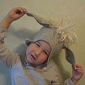 """Аксессуары ручной работы. Ярмарка Мастеров - ручная работа Детская шапка """"Овечка"""" для фотосессии и жизни. Handmade."""